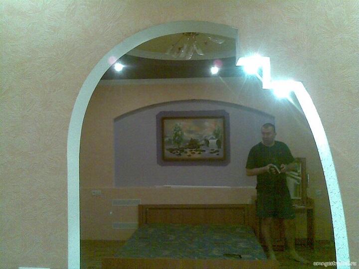Виды межкомнатных арок