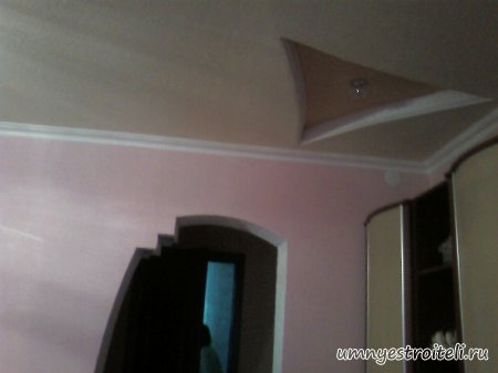Потолки из гипсокартона фото.