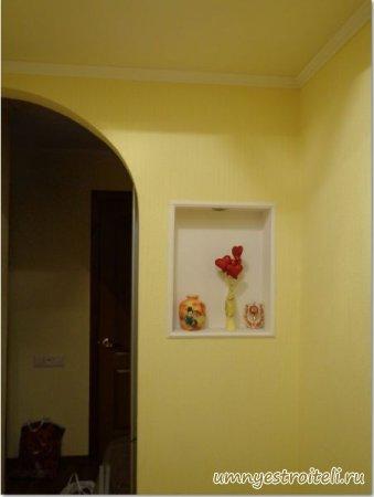 Отделка стен фото.